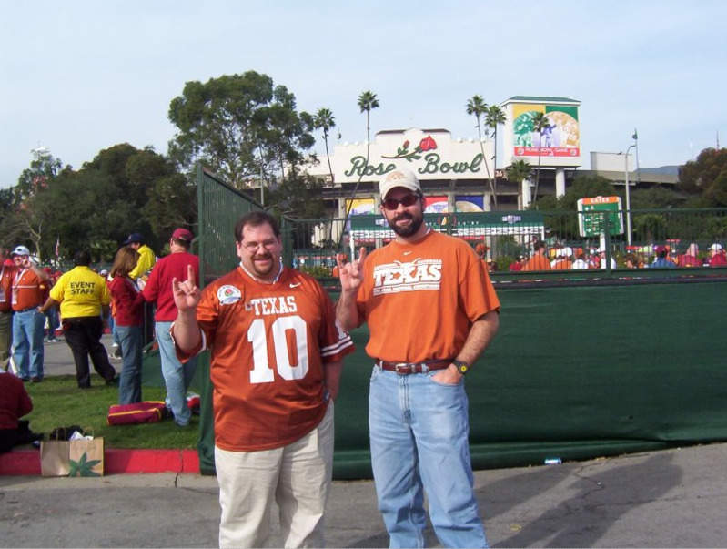Todd and Wes on the Texas-OU game