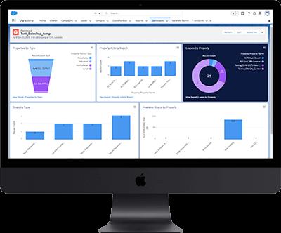 Dashboard Functionality for AscendixRE Salesforce App Development Case Study | Ascendix
