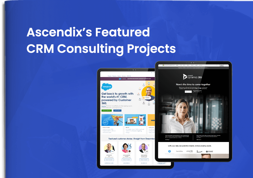Cover Ascendix's Featured CRM Consulting Projects