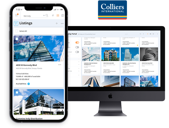Saimir Qalliu Colliers about Property Listings Portal Development