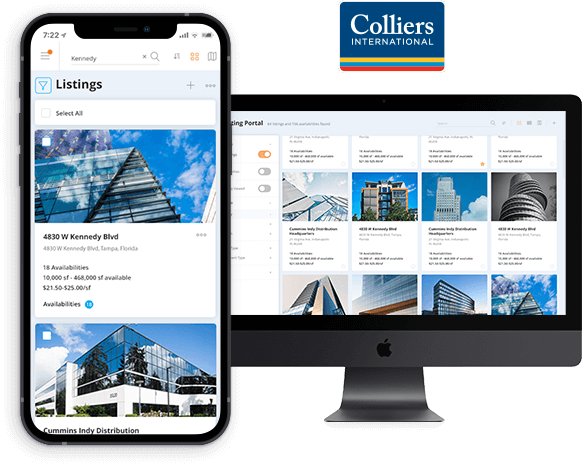 Custom Real Estate Listing Software Development for Colliers International Indiana