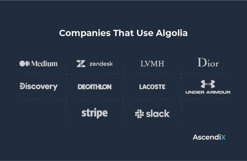 Companies That Use Algolia | Ascendix