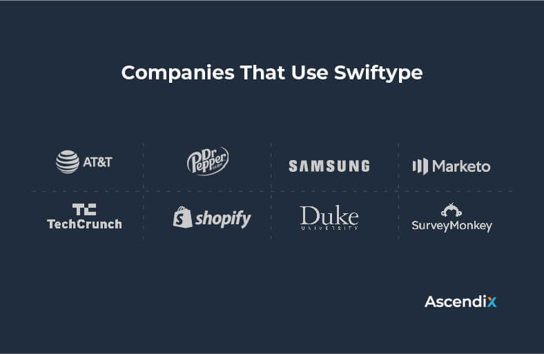 Companies That Use Swiftype | Ascendix