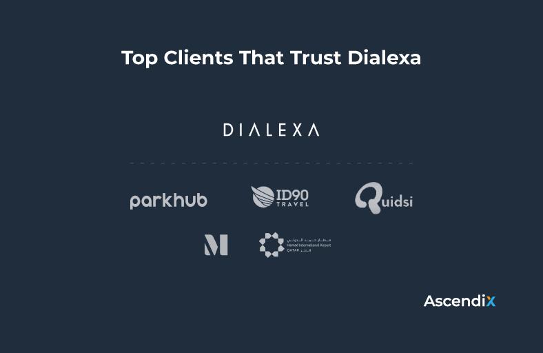 Top Clients That Trust Dialexa   Ascendix