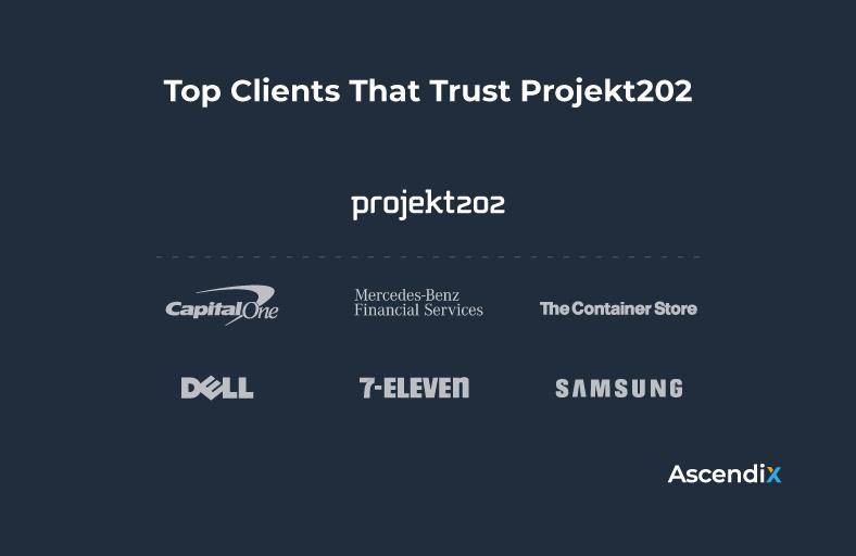 Top Clients That Trust Projekt202   Ascendix