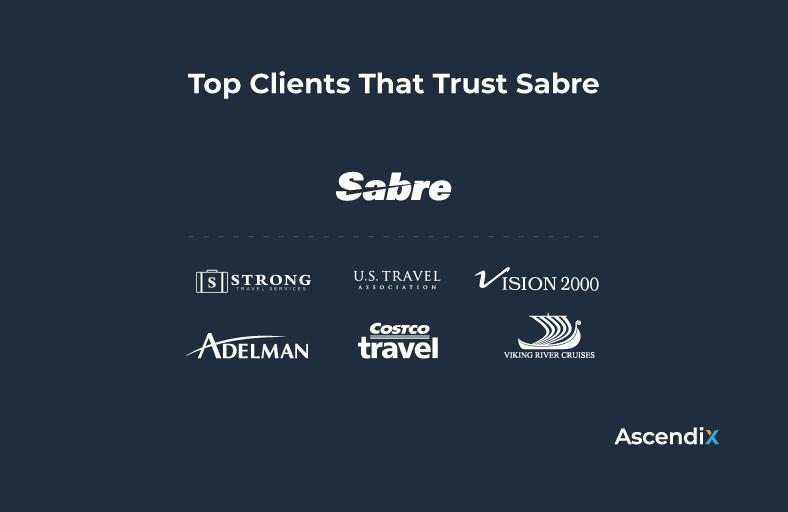 Top Clients That Trust Sabre   Ascendix