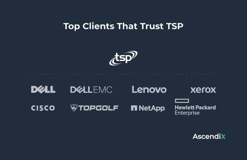 Top Clients That Trust TSP   Ascendix