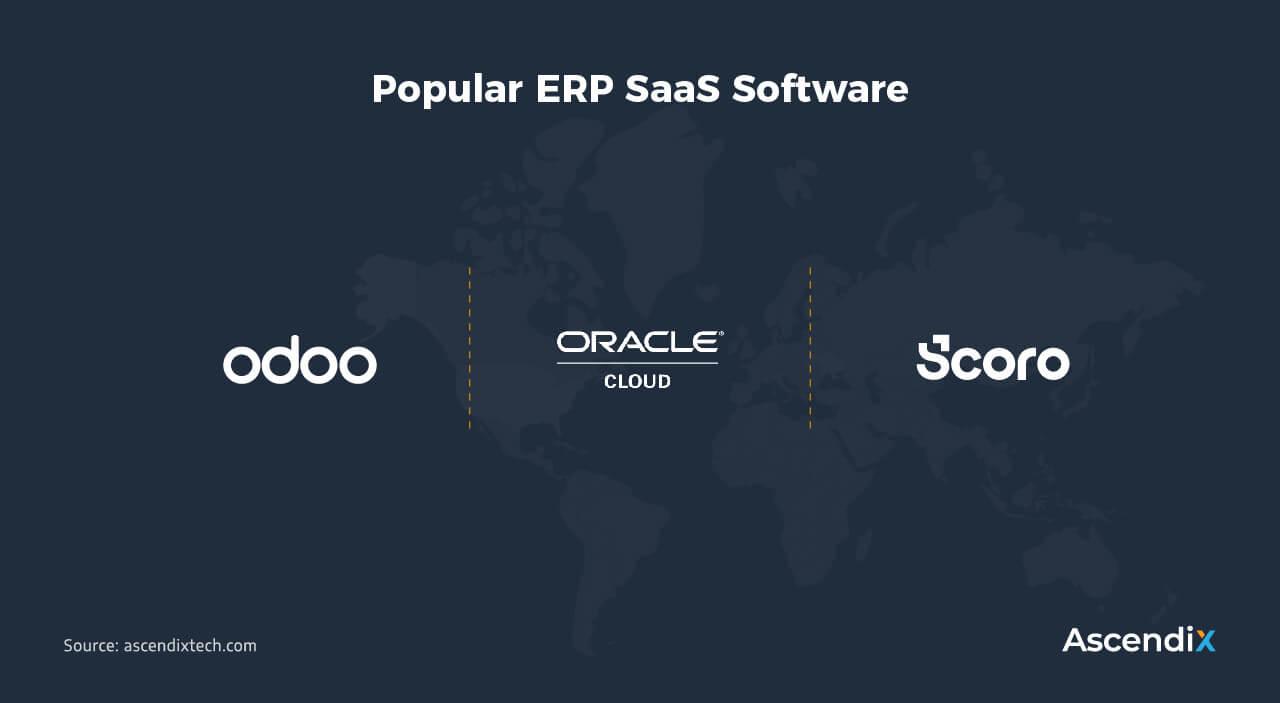 Popular ERP SaaS Software | Ascendix Tech