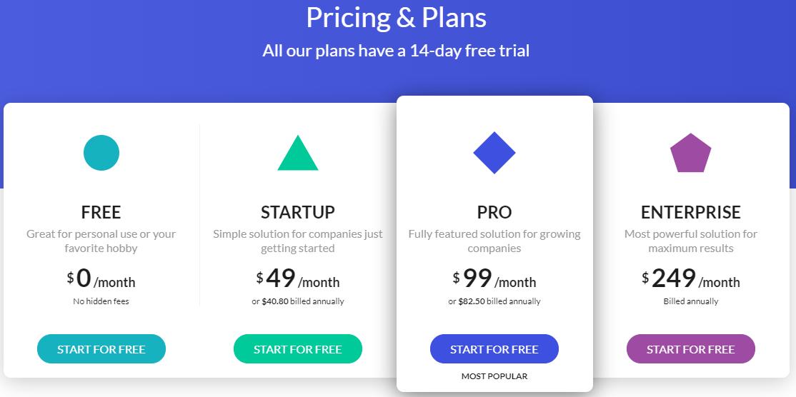 beamer-best-saas-startups-2021-pricing