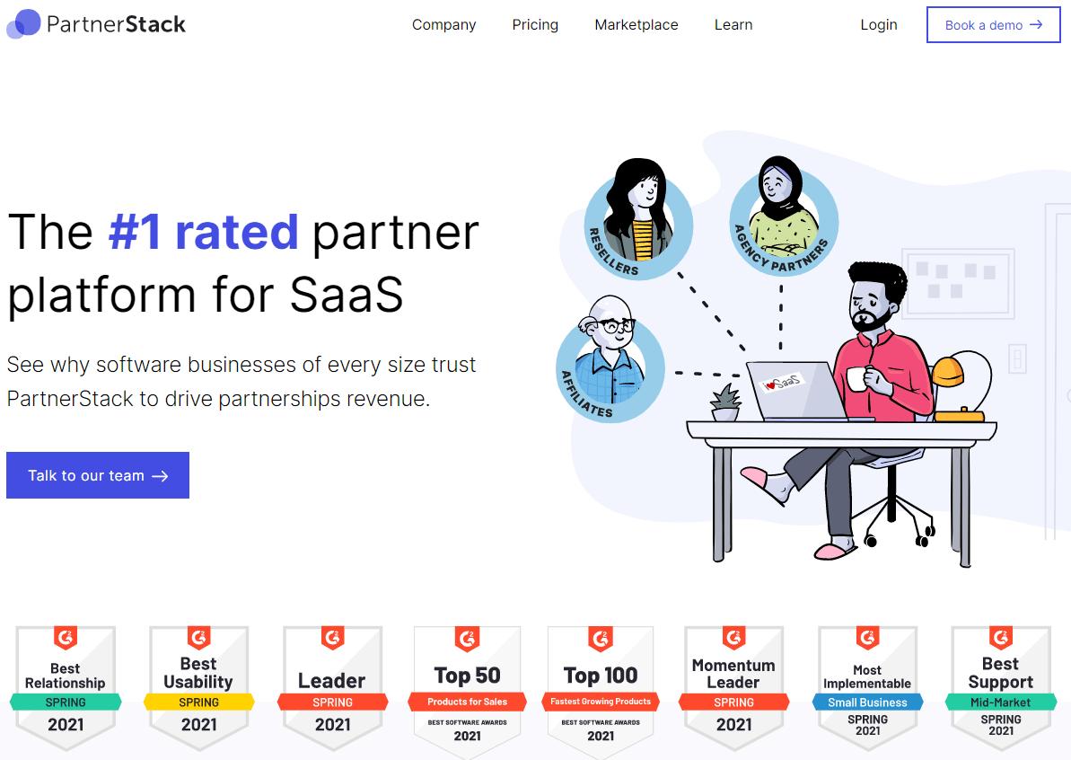 partnerstack-best-saas-startups-2021