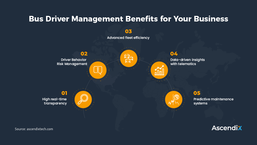 Bus Driver Management Benefits for Your Business