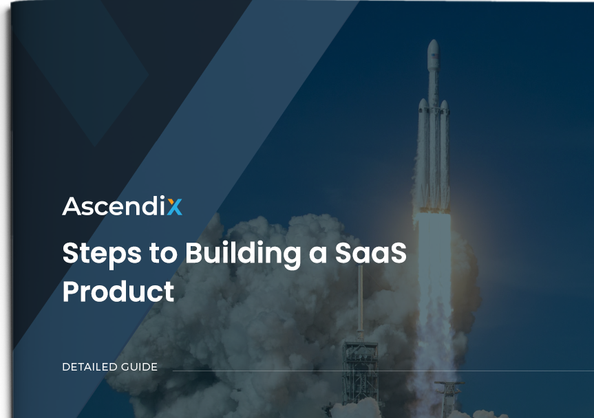 Cover Steps to Building a SaaS Product | Ascendix Tech