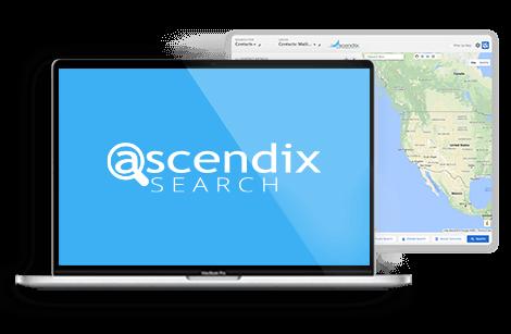 Ascendix-Search-app-interface-laptop