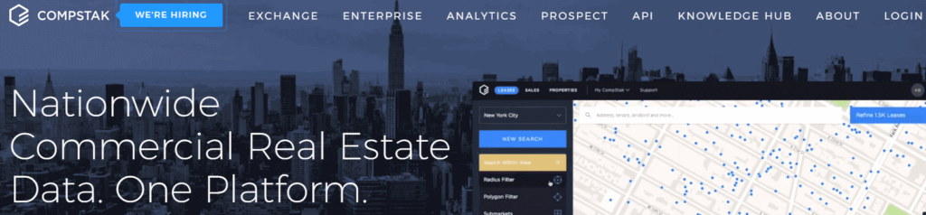 CompStak-commercial real estate management software company