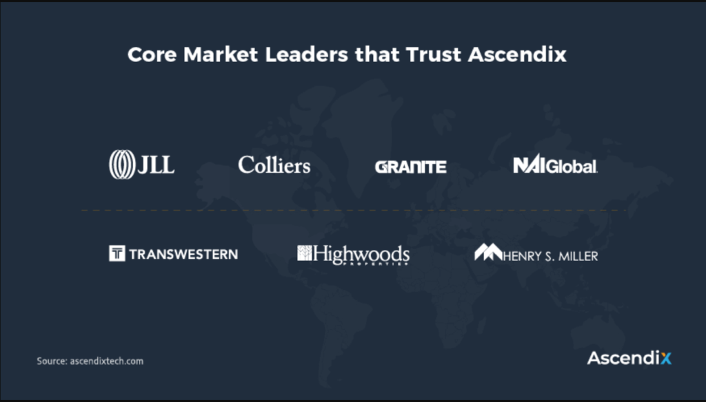 Clients of Ascendix - one of the leading commercial real estate software companies