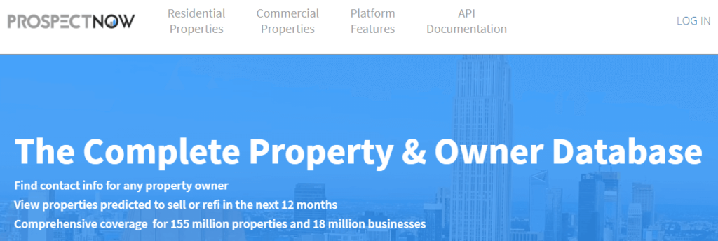 ProspectNow-commercial real estate CRM software company