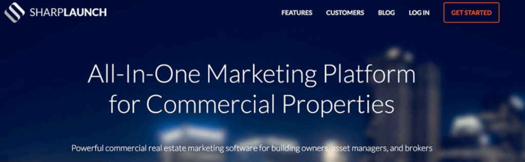 SharpLaunch-commercial real estate property management software company