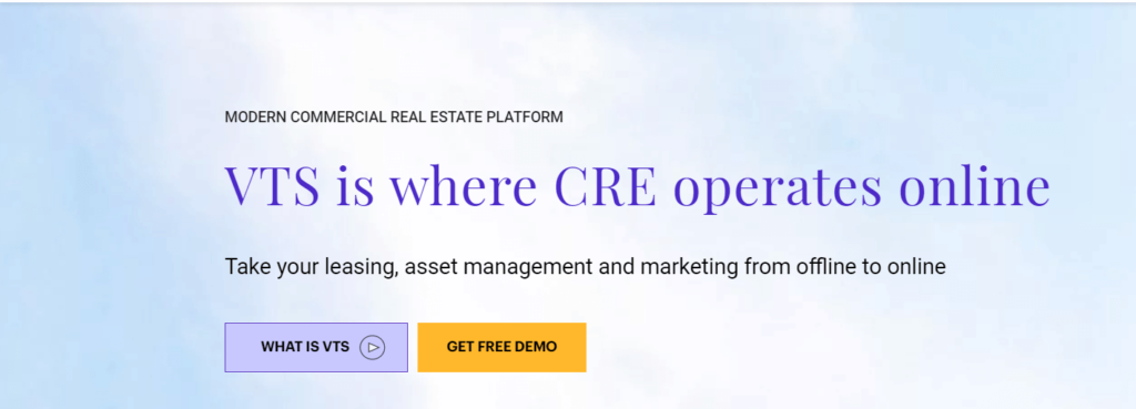 VTS-commercial real estate property management software company