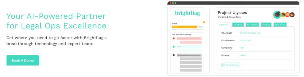 Brightflag Legal Tech company