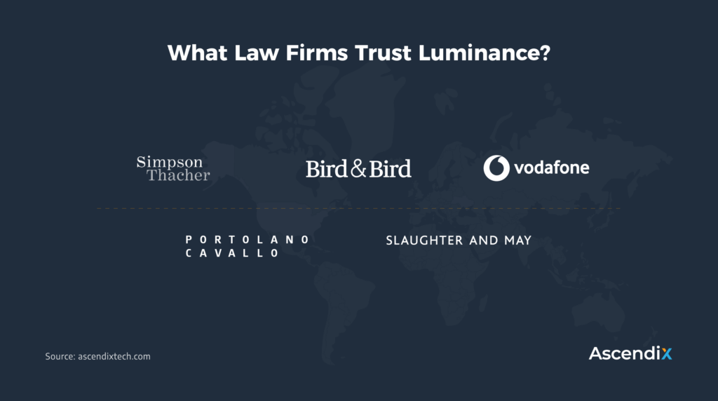 What Law Firms Trust Luminance