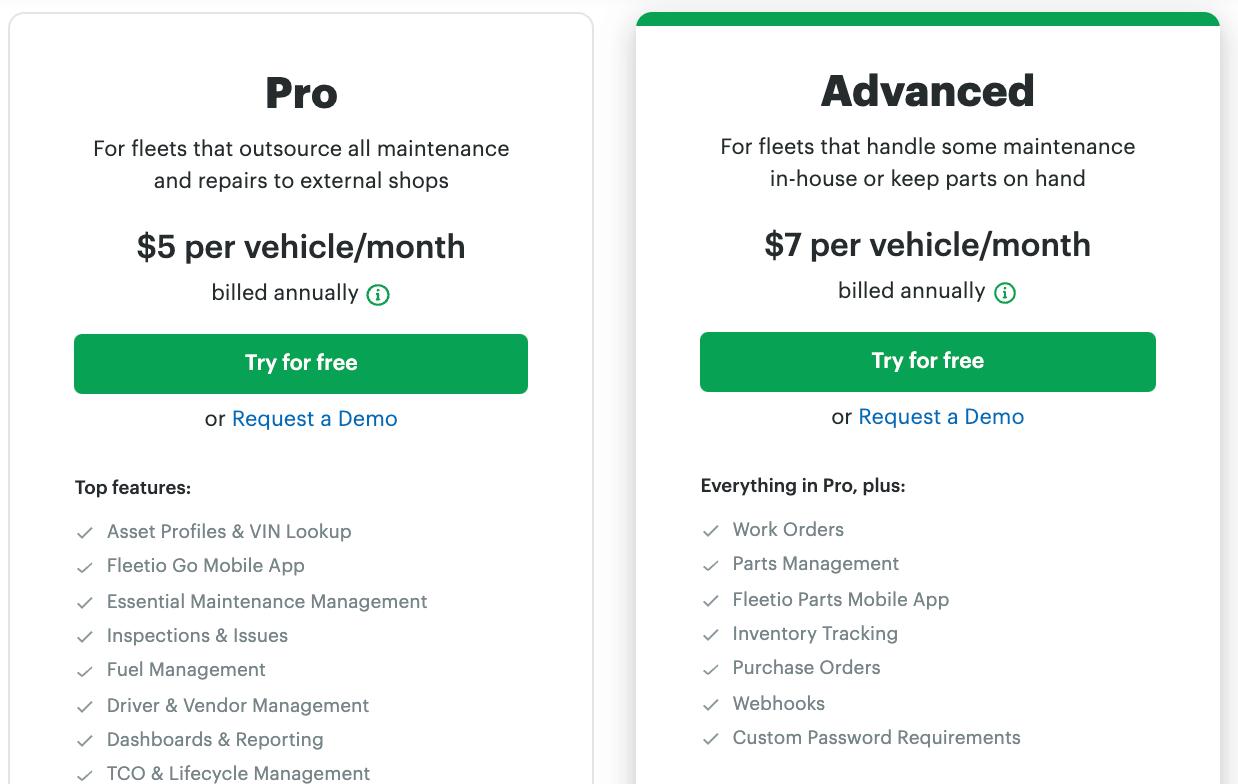fleetio-pricing