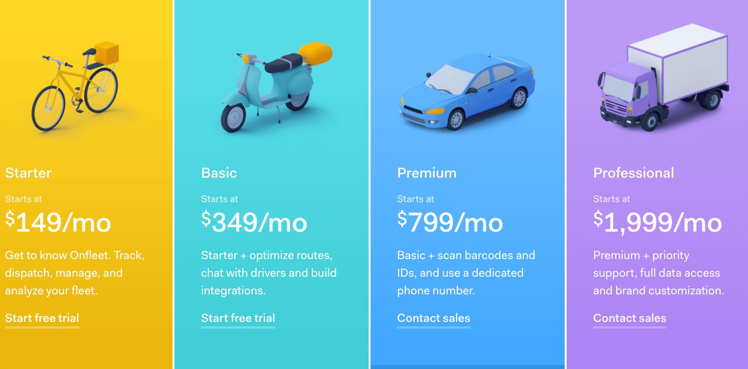 onfleet-pricing